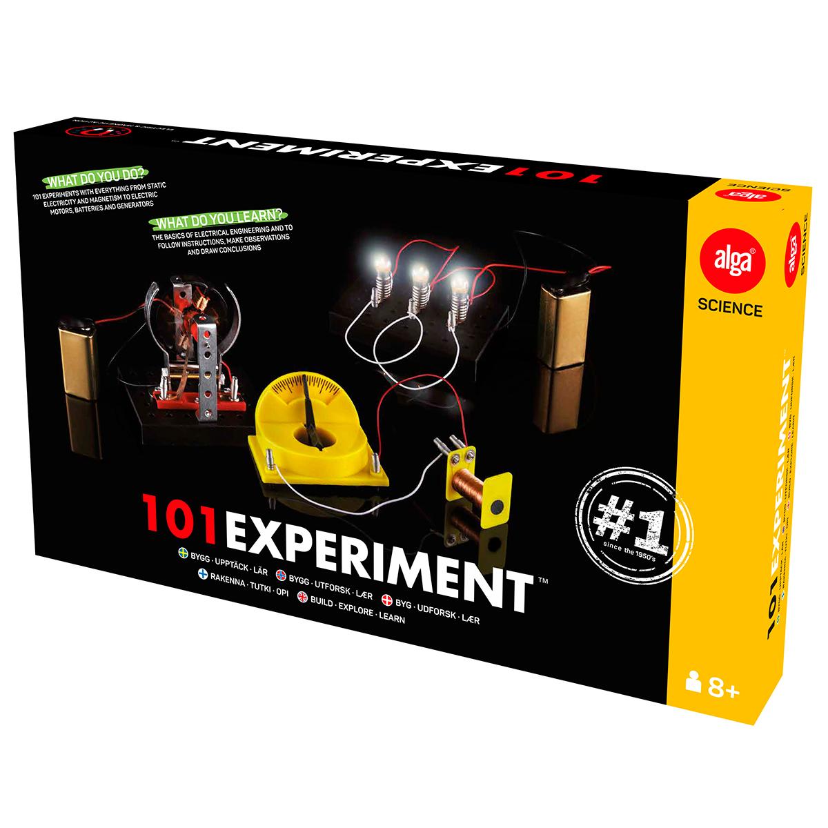 Eksperimenter & fysikleg